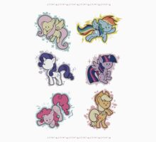The Mane Six One Piece - Short Sleeve