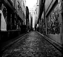 Melbourne Streets by Jason Hilsdon