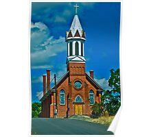 Mary Queen of Heaven Parish, Sprague, Washington Poster