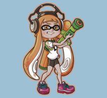 Squid Girl One Piece - Short Sleeve