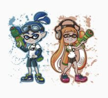 Splatoon One Piece - Short Sleeve