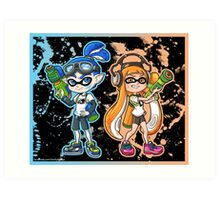 Splatoon Art Print