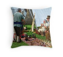 The Rendezvous 2 Throw Pillow