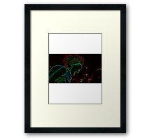 Akira - Tetsuo - Neon Rage Framed Print