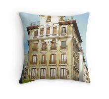 Madrid Architecture Throw Pillow