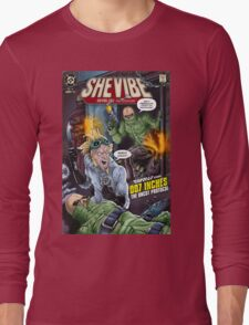 SheVibe Presents - Tantus in 007 Inches: The Uncut Protocol Cover Art Long Sleeve T-Shirt