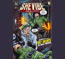 SheVibe Presents - Tantus in 007 Inches: The Uncut Protocol Cover Art T-Shirt