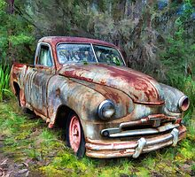 Old Painted Banger by Richard  Cubitt