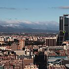 Madrid city view by OlurProd