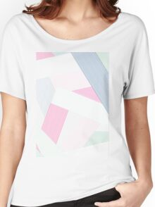Pink + Mint Women's Relaxed Fit T-Shirt