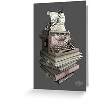 Bookworm Greeting Card