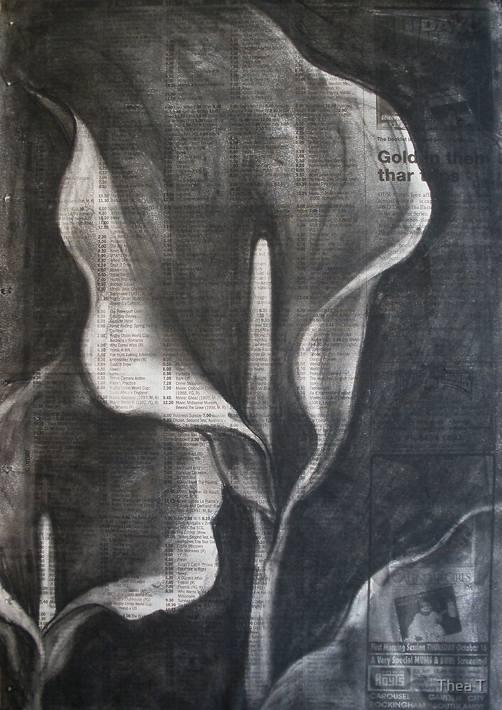 Lillies by Thea T