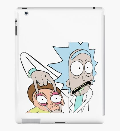 Rick and Morty - 'See that thing?' iPad Case/Skin