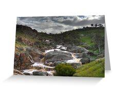 Mannum Waterfalls Greeting Card