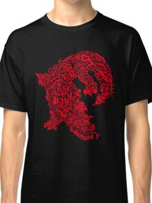 Doodle Dragon (Red) Classic T-Shirt