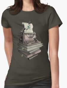 Bookworm Womens Fitted T-Shirt