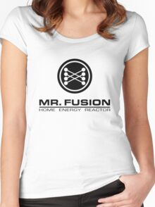 Mr. Fusion Women's Fitted Scoop T-Shirt