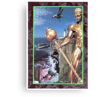 Bronze Watchman Canvas Print