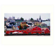 Lunenburg Waterfront Art Print