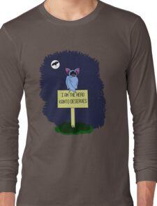 A Dark Night Long Sleeve T-Shirt
