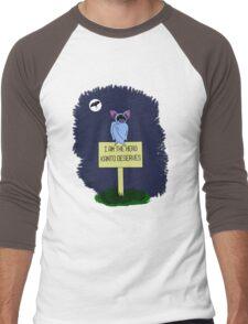 A Dark Night Men's Baseball ¾ T-Shirt