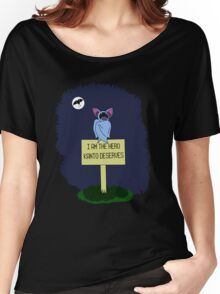A Dark Night Women's Relaxed Fit T-Shirt