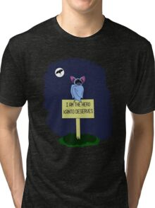 A Dark Night Tri-blend T-Shirt