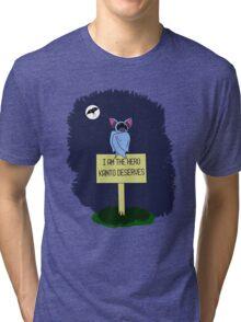 A Dark Night Tri-blend T-Shirt