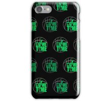 It's Game Time - Green (Pattern 2)  iPhone Case/Skin
