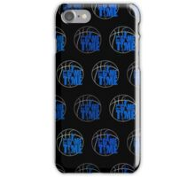 It's Game Time - Blue (Pattern 2) iPhone Case/Skin
