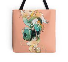 Thumbelina - Peach Tote Bag