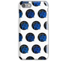 It's Game Time - Blue (Pattern) iPhone Case/Skin