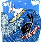 Beach Bunnies by MiMiDesigns