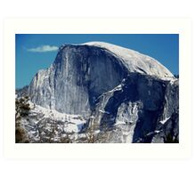 Half Dome in Early Winter Art Print