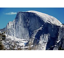 Half Dome in Early Winter Photographic Print