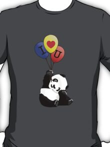 I Love You Panda T-Shirt