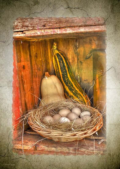 Eggs 'n Veg by Elaine Teague