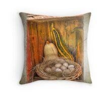 Eggs 'n Veg Throw Pillow