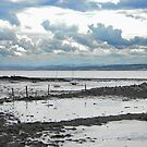Low tide at Culross beach by Kirsty Auld