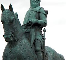 Robert The Bruce Memorial Statue by Kirsty Auld