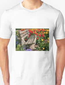 Abducted Park Bench Unisex T-Shirt