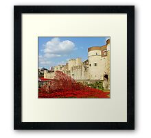 Wave of Blood-Tower of London Framed Print