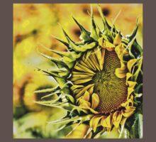 Baby Sunflower  One Piece - Short Sleeve