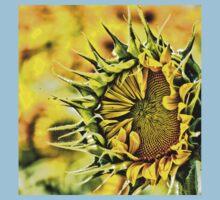 Baby Sunflower  Baby Tee