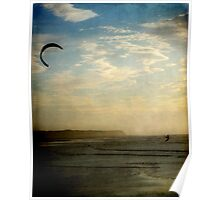 The Kite Surfer Poster
