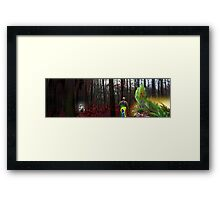 Sureal brazil Framed Print