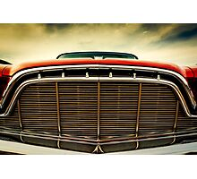 1960 Desoto Fireflite Coupe Grill Photographic Print
