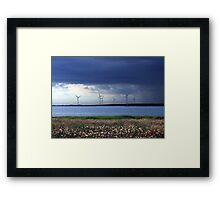 Power From The Wind Framed Print