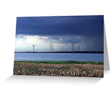 Power From The Wind Greeting Card