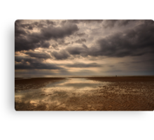 Hunstanton Beach Canvas Print